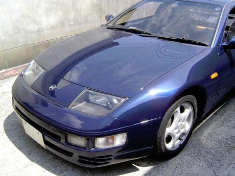 R34GT-RみたいなZ32のブルーが欲しい!